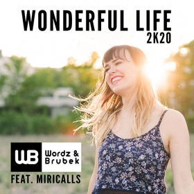 WORDZ & BRUBEK FEAT. MIRICALLS - WONDERFUL LIFE 2K20
